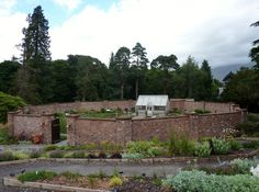 Langholm Kitchen walled garden. Walled Garden, Lake District, Places To Visit, Mountains, Kitchen, Nature, Plants, Travel, Cuisine