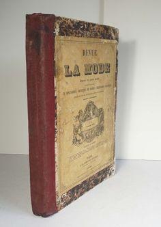 Revue de la Mode 1857-1858 26 Issues 20 Colored Plates French Fashion Dresses | eBay