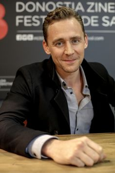 Tom Hiddleston at The 63 San Sebastian International Film Festival. Source: http://www.sansebastianfestival.com/in/