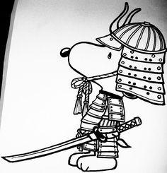 Samurai Snoopy by ~keikoface on deviantART