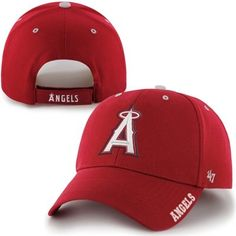 47 Brand Los Angeles Angels of Anaheim Red Frost Structured Adjustable Hat  Reds Baseball 329e8a643e2f