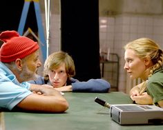 The Life Aquatic with Steve Zissou: Bill Murray, Cate Blanchett, Wes Anderson.