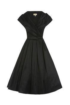 78vintage φόρεμα chic lbd 50s
