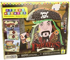 Kids' Mosaic Kits - Orb Factory Sticky Mosaic Pirates * Details can be found by clicking on the image.