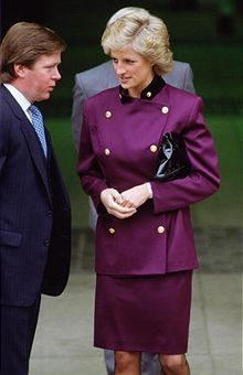 Princess Diana - Always looked proper in Purple