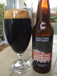 Evil Twin Brewing 'I Love You With My Stout' Imperial Stout