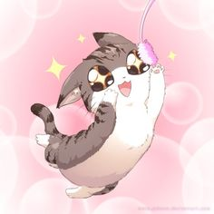 Le maître d'Internet. Je vous présente (Sa Majesté) Le Chat. #cat #manga