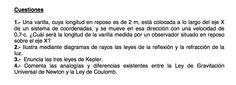 Cuestiones de Física propuestos en el examen PAU de Canarias de 2006 - 2007 Setiembre, Opción B.