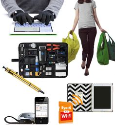 What Do You Get the Tech Lover Who Already Has Everything? *all this stuff looks cool!*