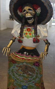 La Catrina es un elemento común en el Día de Muertos.
