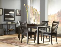 Eclipse Dining Room w/ Rectangular Table