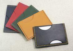 (受注生産)カードケース・パスケース【革・糸色選択可】の画像1枚目