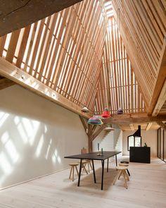 LANDHAUS / Thomas Kroger Architekt – nowoczesna STODOŁA | wnętrza & DESIGN | projekty DOMÓW | dom STODOŁA