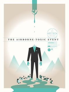 The Airborne Toxic Event - gig poster