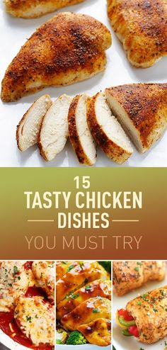 Chicken is a fundamental dish at almost every dinner table. Kids love it as much as adults do, but sometimes you and your family will get bored of eating chicken simply grilled or fried. Because there are many possibilities you can do with chicken, you might want to upgrade your chicken recipes, and try different flavors you haven't cooked before. Here you can find many chicken recipes you should try to re-new your love for chicken.