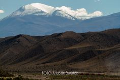 Tren de las nubes y el nevado de Cachi, 2012