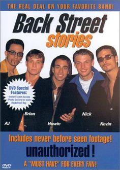 Back Street Stories. Backstreet Boys, Nick Carter, Boy Paradise, Brian Littrell, Growing Up, Nostalgia, Stage, Amazon, Reading