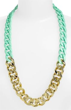 BP. Two Tone Chain Statement Necklace | Nordstrom.
