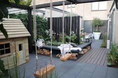 6 Nice Cool Ideas: Backyard Garden Oasis Shades backyard garden how to build.Lan… 6 Nice Cool Ideas: Backyard Garden Oasis Shades backyard garden how to build. Small Backyard Gardens, Backyard Garden Design, Large Backyard, Back Gardens, Small Patio, Garden Oasis, Terrace Garden, Big Garden, Green Garden
