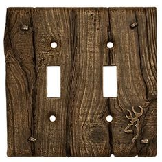 Browning Double Toggle Wall Plate