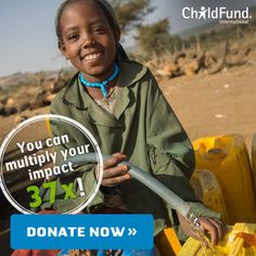 ChildFund International is dedicated to helping children in need. We believe all children deserve hope. Helping Children, Children In Need, Child Sponsorship, Millions Of Dollars, Donate Now, Waiting, Believe