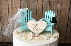 surfer themed wedding cake topper - Google Search