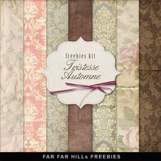 Click HERE to download Freebies Backgrounds Kit - T ristesse Automne . And see My other Freebies . Enjoy! Please, leav...