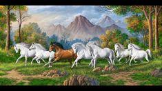 Abofazl Mirzabeygi Horses, Mountains, World, Travel, Animals, Art, Art Background, Viajes, Animaux