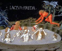 The Last Judgment: The Circle of Hell, the Cold Water (Predis Codex), 1476, by Cristoforo de Predis.