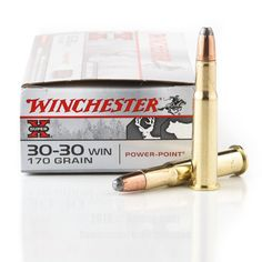 Winchester 30-30 Ammo - 200 Rounds of 170 Grain PP Ammunition #3030Win #3030WinAmmo #Winchester #WinchesterAmmo #Winchester3030Win #PPAmmo #PowerPoint