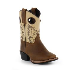 Smoky Mountain Kid's Square Toe Western Boots