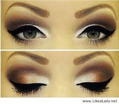 So pretty! This is perfect for my eye color. And I would add stick on crystals and diamonds.