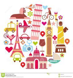travel world map - Google Search