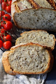 Bread Recipes, Banana Bread, Good Food, Food And Drink, Healthy, Desserts, Bread, Food And Drinks, Baking