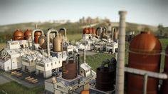 Металлургический завод в SimCity   SimCity 5 (2013) фан-сайт игры