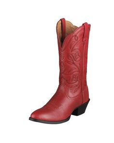 kind of thinking of going crazy and wearing red cowgirl boots on our wedding day :) even if it's just for the pictures, lol.