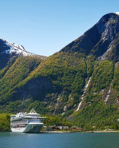 Caribbean Princess in Flåm, Norway I Princess Cruises
