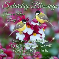 Psalm 118:24 KJV Good Morning Angel, Good Morning Saturday, Happy Saturday, Saturday Greetings, Morning Greetings Quotes, Weekly Inspirational Quotes, Saturday Quotes, Everyday Prayers, Happy Sabbath