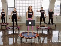 REBOUNDFIT INTERMEDIATE / ADVANCED WORKOUT ON THE BELLICON® on Vimeo