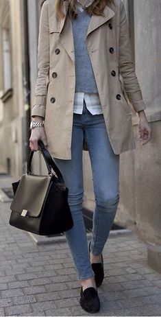 Lovely Winter Office Outfits With Jeans, Winter Outfits, winter layered outfit idea for work Winter Layering Outfits, Winter Office Outfit, Office Outfits, Mode Outfits, Jean Outfits, Fall Outfits, Casual Outfits, Fashion Outfits, Office Attire
