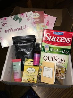 Influenster: #MomLifeVoxBox – miss bossy reviews, adventures and confessions