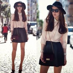 Love this look. very chic with a bit of edge