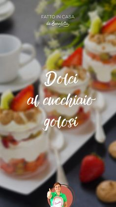 Dolce, Food Videos, Delicious Desserts, Biscuits, Tasty, Make It Yourself, Bar, Breakfast, Culinary Arts