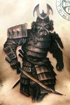 Japanese Samurai Tattoo Art | Tumblr ink samurai tatoo, tumblr samurai, tumblr tattoo, tumblr ...