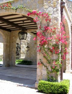Mediterranean Spaces Exterior With Stone And Brick Design, Pictures, Remodel, Decor and Ideas - page 6