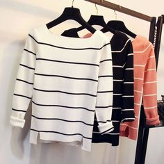 Ready for your new favorite casual sweater? This slim fit and striped pullover…