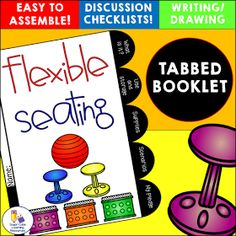 Flexible Seating Discussion Booklet by Sugar Cube Learning Resources
