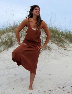 Gaia Conceptions - Tie Tank Breeze Wanderer Below Knee Dress, $155.00 (http://www.gaiaconceptions.com/tie-tank-breeze-wanderer-below-knee-dress/)