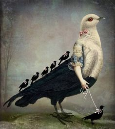 Mornuing Walk by Catrin Welz-Stein , publised 4-12-2013 (I love this one)
