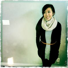 Puff Stitch Scarf by Stephanie Jessica Lau